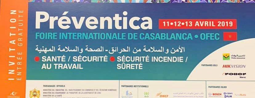 ДМТех представи своята техника на изложението Preventica-2019 в Казабланка-Мароко.
